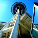 space needle thumb